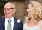 Rupert Murdoch y Jerry Hall se casan ante un centenar de invitados
