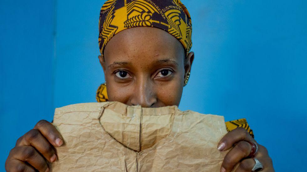 Kadidatou fue víctima de violencia sexual con 12 años en Tombuctú, Malí.
