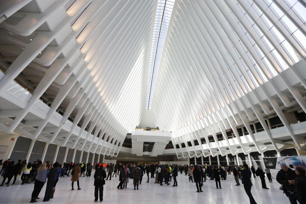 Oculus, la nueva estación de transportes de Nueva York.