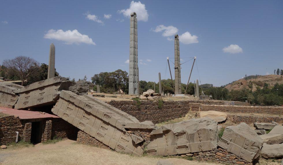 Ruinas de Aksum, en el norte del país y uno de los principales reclamos turísticos.