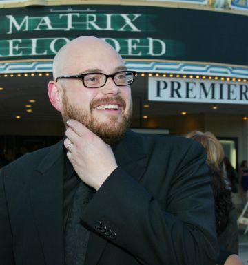 Andy Wachowski, en el estreno de 'Matrix Reloaded', en 2003 en Los Ángeles.