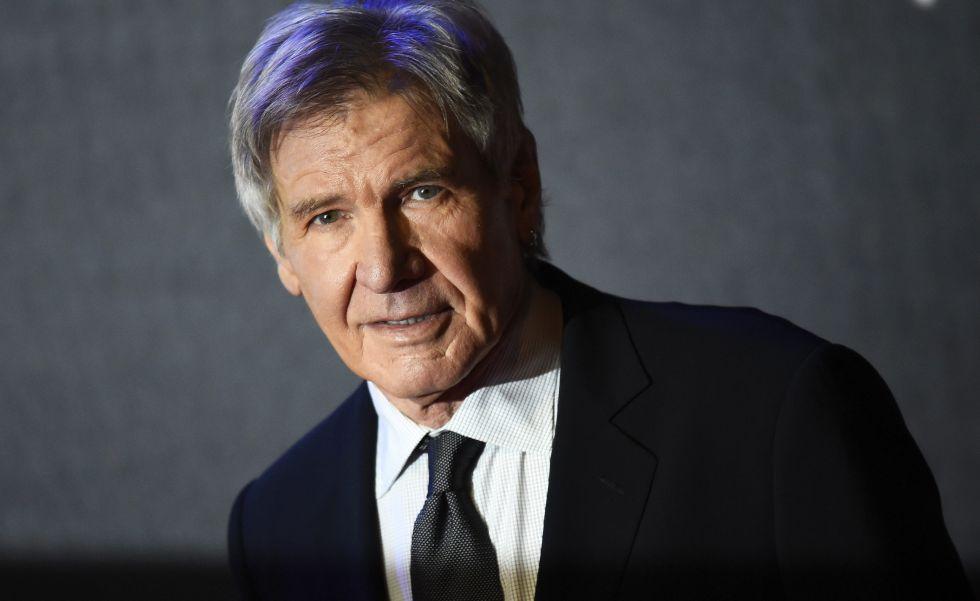 Harrison Ford, en el estreno de 'Star Wars'.