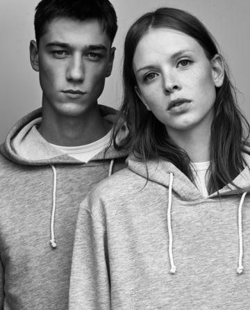 Modelos de la colección Ungendered de Zara.
