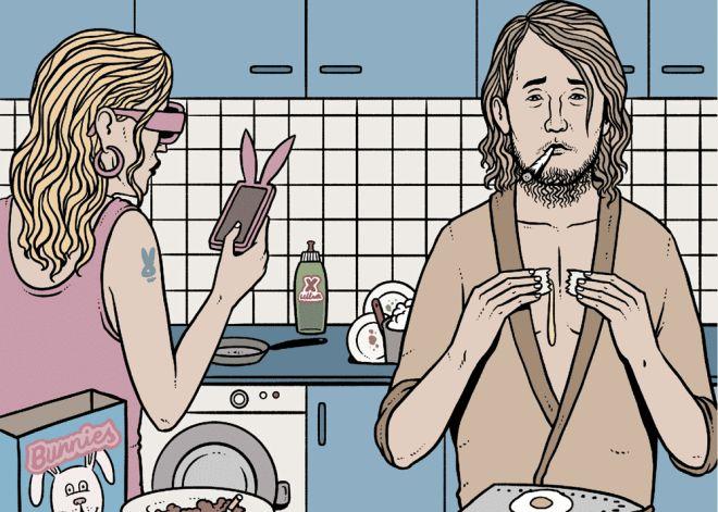 ¿Vives con un compañero de piso repugnante?