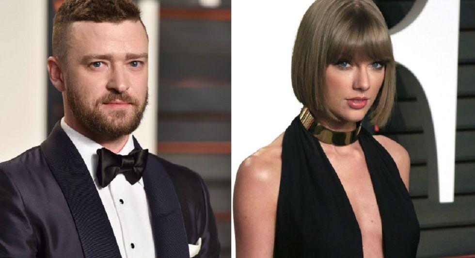 Justin Timberlake y Taylor Swift.