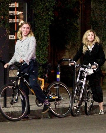 Madonna y su hijo Rocco en Los Ángeles, el pasado octubre.