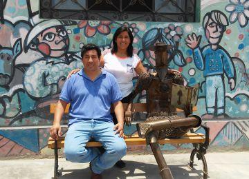 Eddy Castillo y su mujer, Lis Pérez, gestores del proyecto.