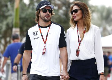 Fernando Alonso y Lara Álvarez, ¿boda a la vista?