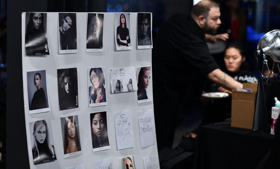 El 'backstage' de la firma DexterDexterDexter en la pasada semana de la moda de Nueva York.