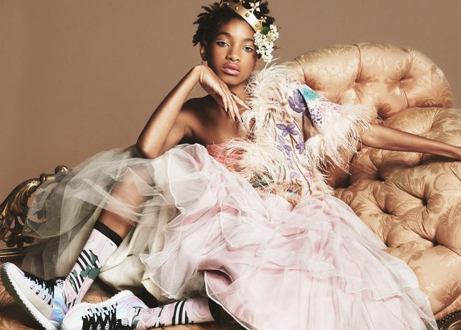 Willow Smith en la campaña de Stance Socks.