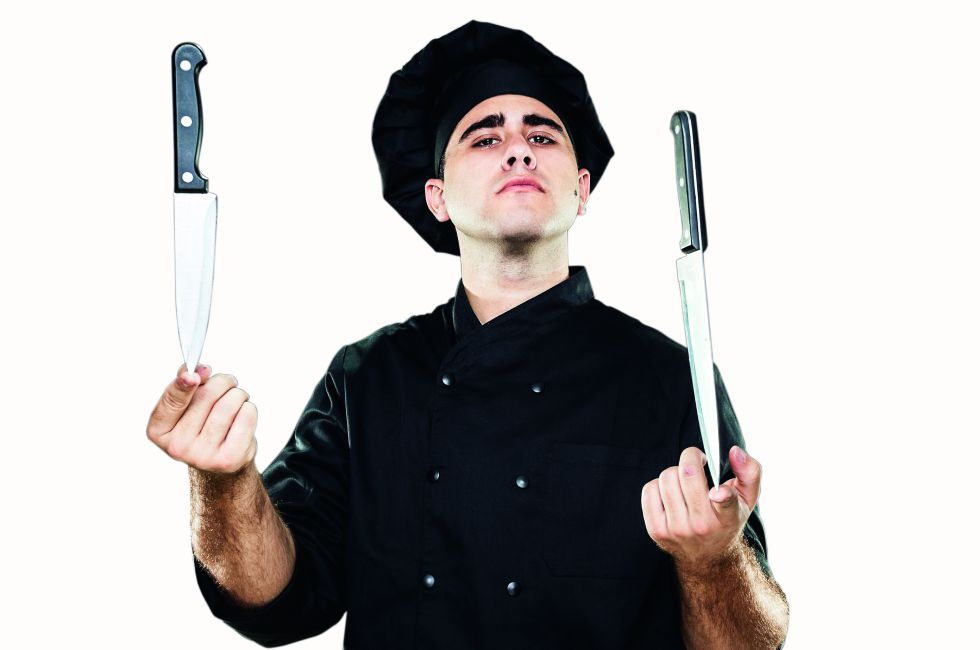 Los cuchillos que hay que tener en casa para una cocina decente
