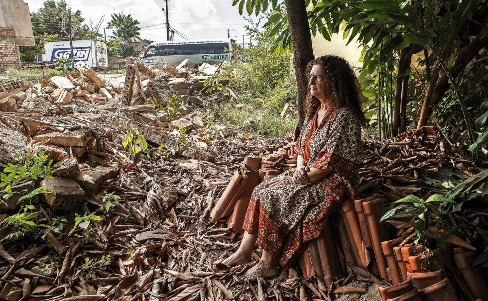 Antonia Melo, apura los últimos días en su casa antes de que la desalojen definitivamente. Esa zona quedará inundada por las aguas de la presa.