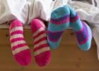 A la cama, siempre con calcetines