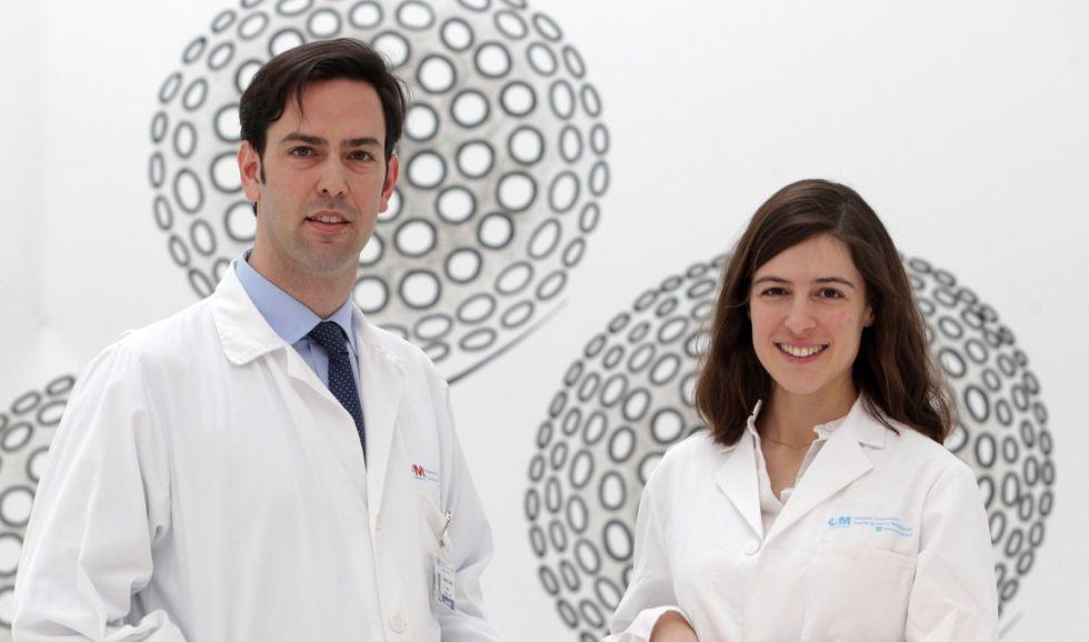 Pablo García-Pavía y Sofía Cuenca, cardiólogos del Hospital puerta de Hierro