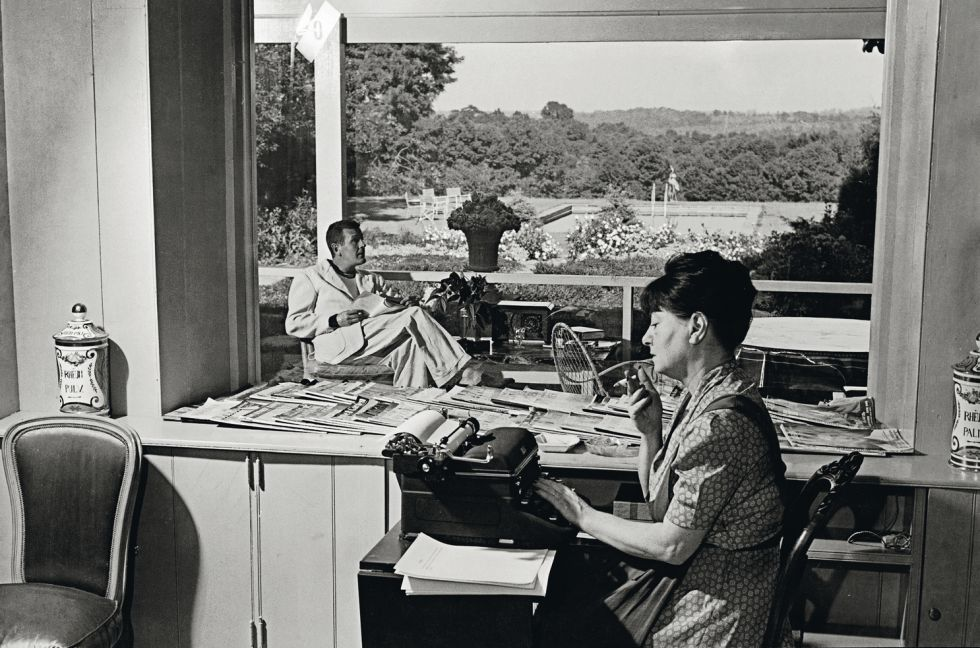Dorothy Parker y su marido, Alan Campbell, escribieron juntos guiones para los estudios de Hollywood en la década de los años treinta.