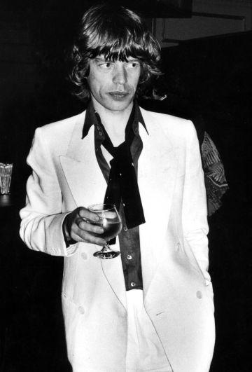 Mick Jagger captado por el lente de Rose Hartman.