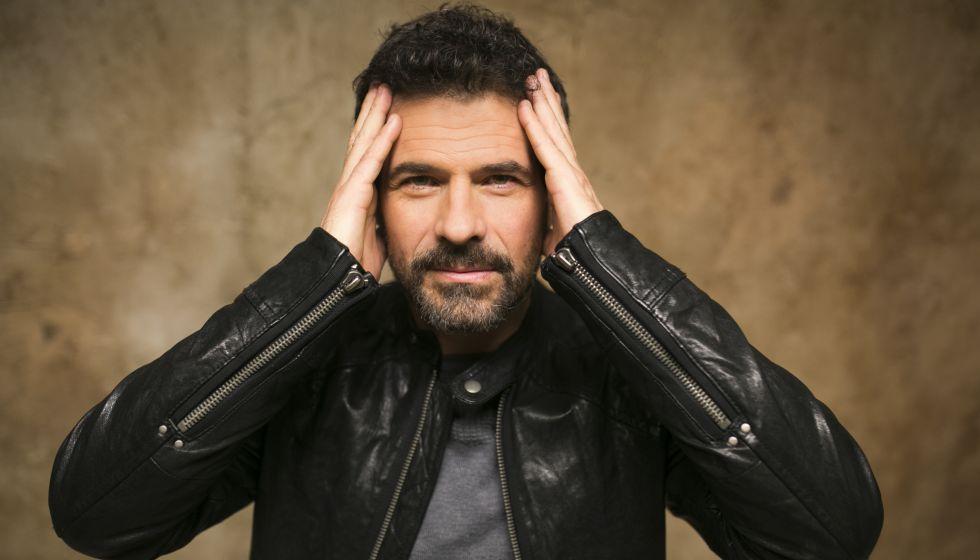 El actor Rodolfo Sancho, en el plató de 'El Ministerio del Tiempo'.