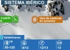 Estaciones de esquí en el Sistema Ibérico