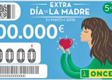 Número premiado en el sorteo de la ONCE del Día de la Madre : 50.166
