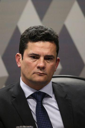 El juez Sergio Moro, que investiga al expresidente brasileño Luiz Inácio Lula da Silva en el escándalo de corrupción de Petrobras.