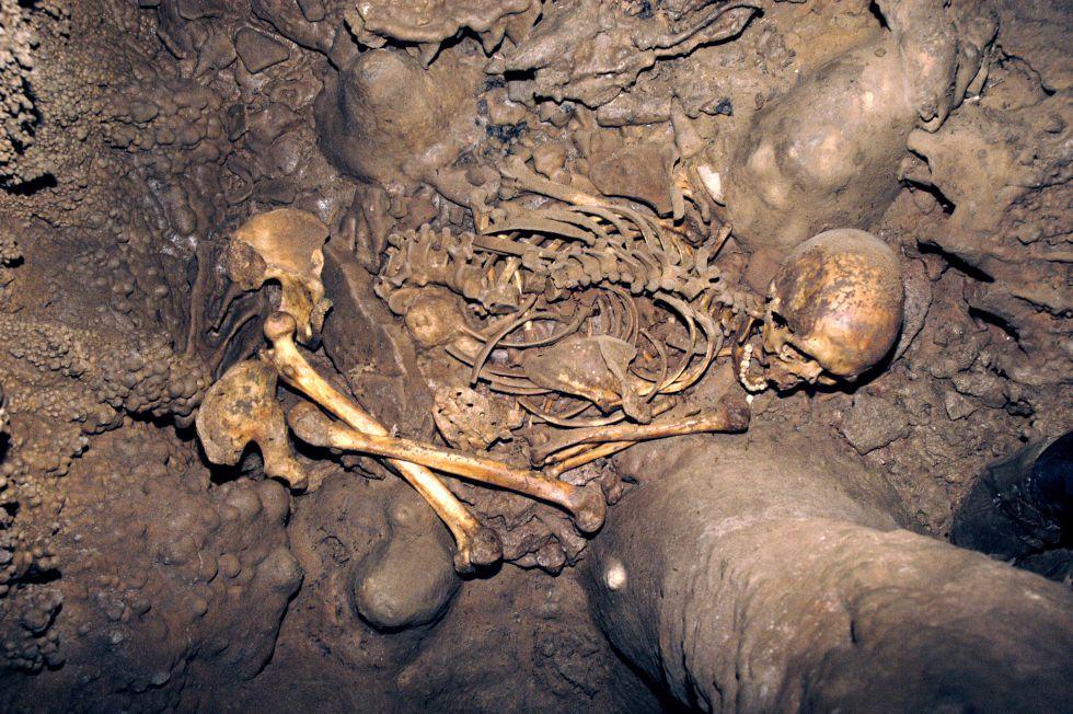 Restos de cazadores y recolectores de hace 7.000 años encontrados en La Braña-Arintero (León)