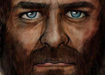 Un cazador europeo, de piel oscura y de ojos azules de hace 7.000 años