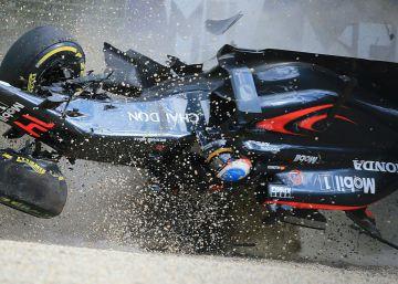 Los peores accidentes de Fernando Alonso en la Fórmula 1