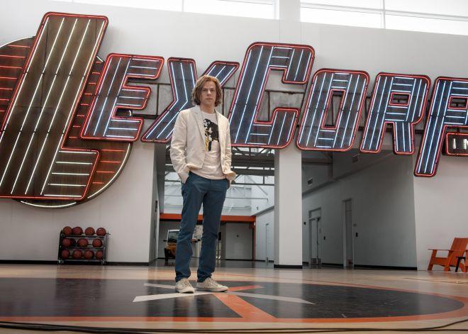 Jese Eisenberg en la 'sede' de LexCorp