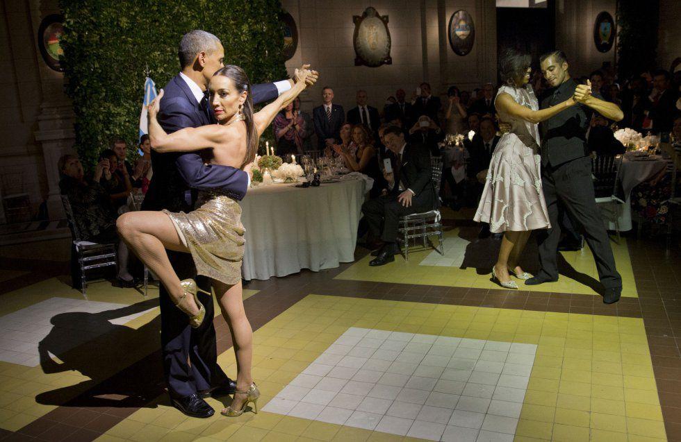 Barack Obama es un bailón