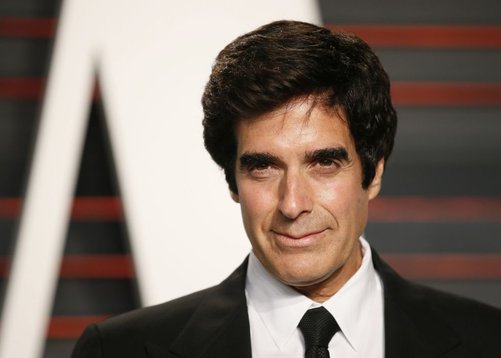 David Copperfield, en la fiesta post Oscar organizada por 'Vanity Fair' el pasado febrero.