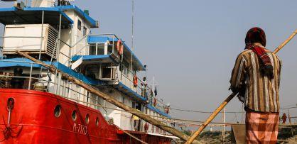 El barco-hospital Lifebuoy Friendship Hospital.