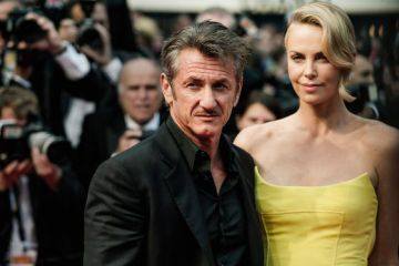 Sean Penn y Charlize Theron.