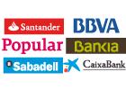 Los ingresos de los grandes bancos españoles