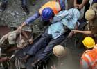 Derrumbe de un puente en Calcuta
