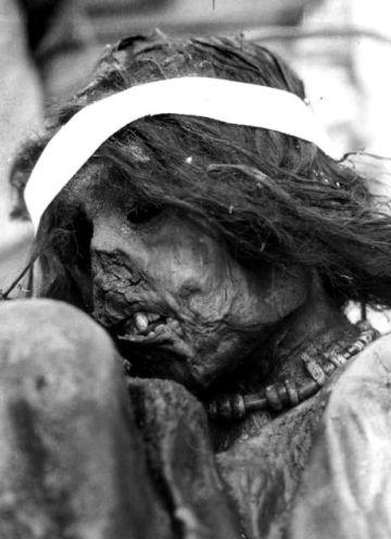 La momia del Aconcagua.