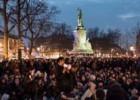 Cientos de indignados acampan en París por segunda noche seguida