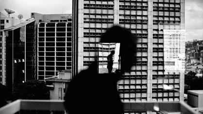 'Reflejo en una ventana de Altamira' (Caracas).