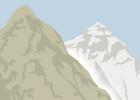 Comparación de altura del Chimborazo y el Everest
