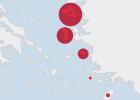 Refugiados expulsados de Grecia a Turquía