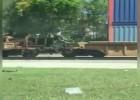 El repartidor que tenía tanta prisa que saltó por encima de un tren