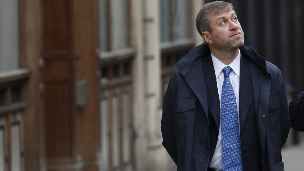 El millonario ruso Roman Abramóvich.