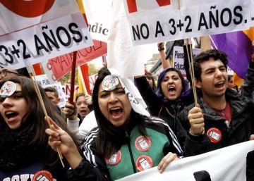 Huelga de estudiantes contra la LOMCE