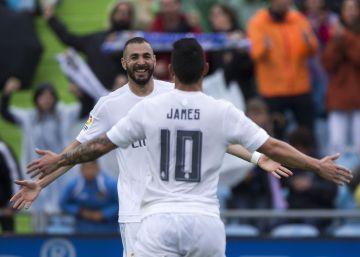 Getafe - Real Madrid, las imágenes del partido