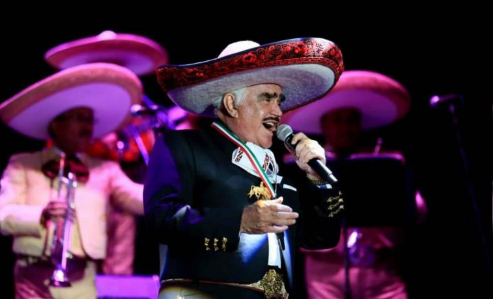 Vicente fern ndez la voz ranchera del amor que duele for Cancion en el jardin de alejandro fernandez