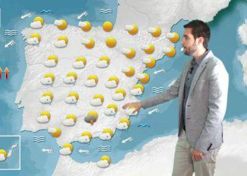 Caída de las temperaturas en el Mediterráneo