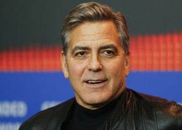 """Clooney califica de """"obsceno el dinero"""" de las campañas políticas"""
