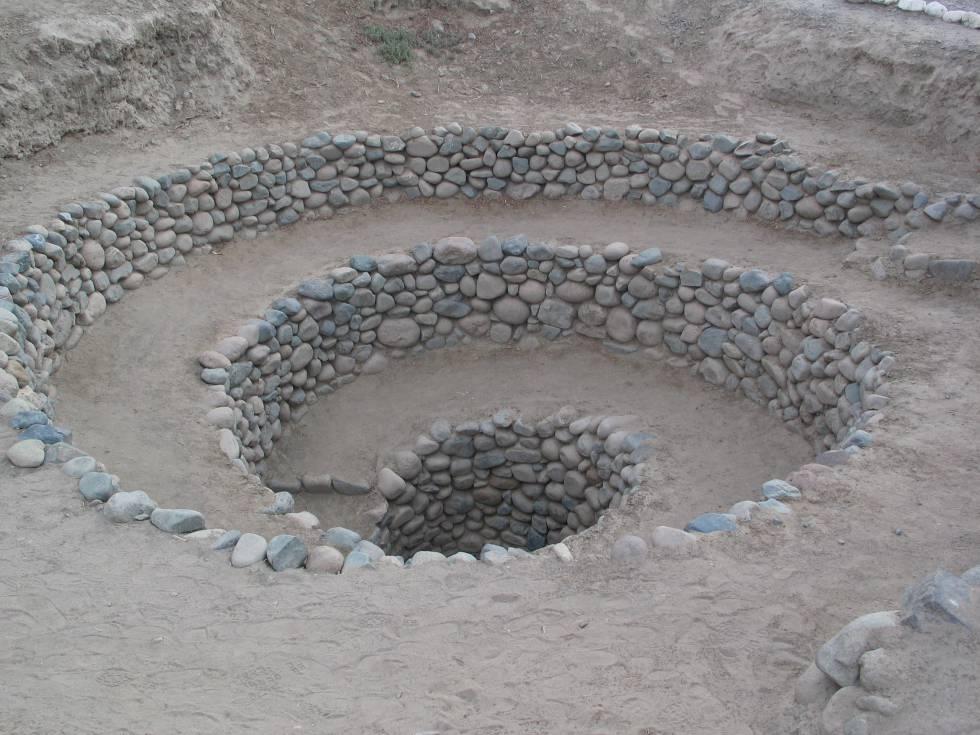 Imágenes de satélite desvelan el significado de las espirales de Nazca