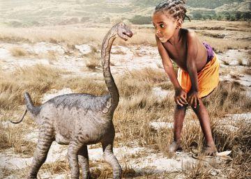 Así era el mayor animal terrestre al nacer