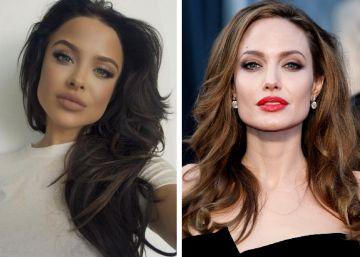 Famosa por parecerse a Angelina Jolie