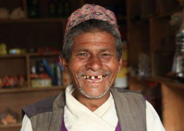 Casetas para los más afortunados en Nepal